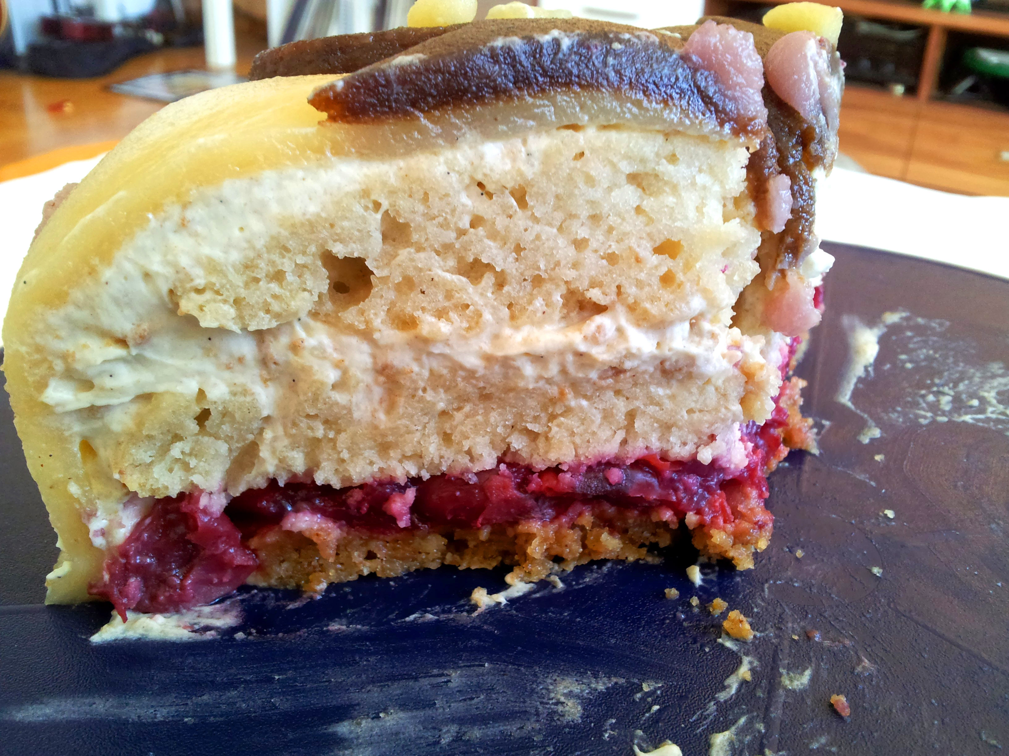 Spekulatius Kirsch Torte Claudi S Vegan World
